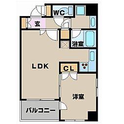 パレステュディオ渋谷ステーションフロント[9階]の間取り