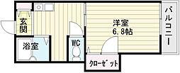 サンメイト[1階]の間取り