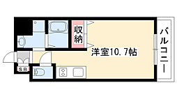 愛知県名古屋市瑞穂区川澄町3丁目の賃貸マンションの間取り