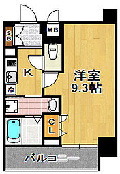 アドバンス大阪ソルテ[4階]の間取り