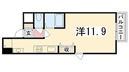 Maison Asahi[4-A号室]の間取り