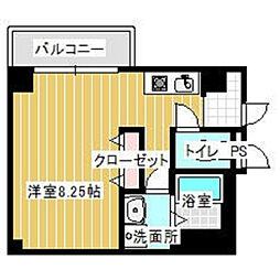 リベール・エム二俣川[401号室]の間取り