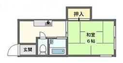 旭マンション[3階]の間取り