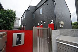 東京都狛江市西野川4丁目の賃貸アパートの外観