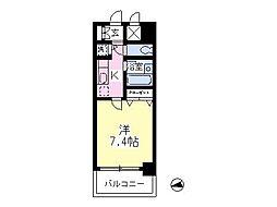 エクセル高幡[409号室]の間取り