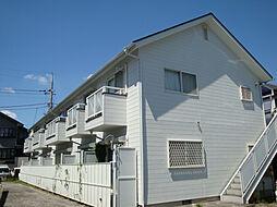 東京都日野市日野本町4丁目の賃貸アパートの外観