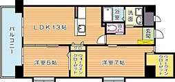 スマートII[8階]の間取り