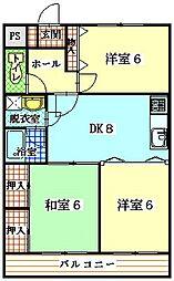 Neo・City−F[3階]の間取り