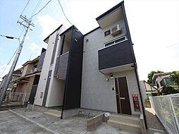 愛知県名古屋市北区中杉町2丁目の賃貸アパートの外観