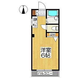 千成ビル[4階]の間取り