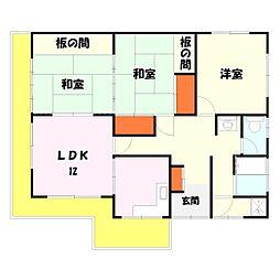[一戸建] 東京都足立区入谷9丁目 の賃貸【/】の間取り