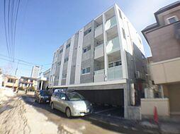 北海道札幌市西区発寒一条3丁目の賃貸マンションの外観