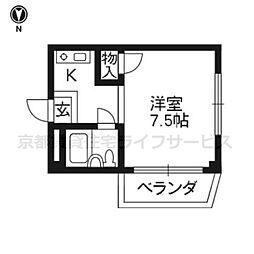 野口41マンション[301号室]の間取り