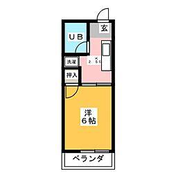 サンハイツオリーブ[2階]の間取り