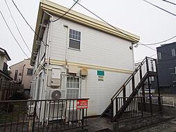 東京都板橋区赤塚新町3丁目の賃貸アパートの外観