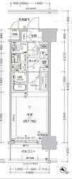 エスプレイス神戸ウエストゲート[3階]の間取り
