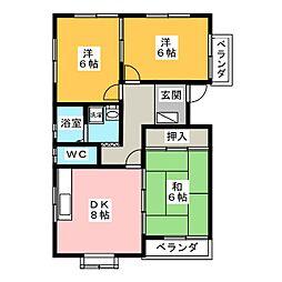 メゾンドエトワール[3階]の間取り