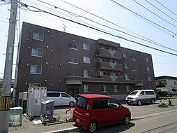 北海道札幌市東区東苗穂六条1丁目の賃貸マンションの外観