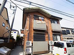 千葉県松戸市高柳新田の賃貸アパートの外観