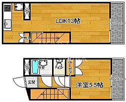 マナーハウス[B-112号室号室]の間取り