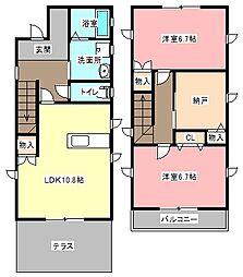 [一戸建] 静岡県浜松市中区城北2丁目 の賃貸【/】の間取り