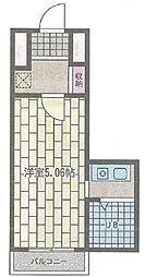 横須賀中央ダイカンプラザシティIII[401号室]の間取り
