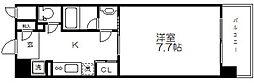 アスヴェルタワー大阪城WEST[11階]の間取り