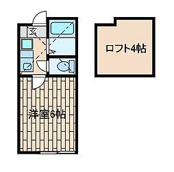 サンメゾンS[1階]の間取り