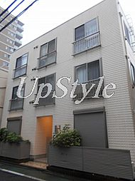 東京都文京区本駒込1丁目の賃貸アパートの外観
