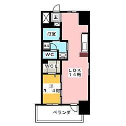 丸東レジデンス大須[5階]の間取り