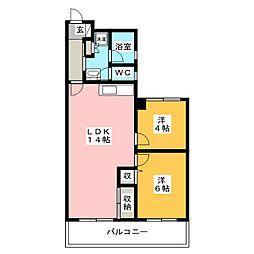 鈴木ビル[3階]の間取り