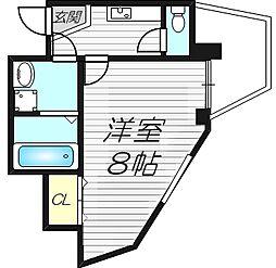 ETC清水駅前[7階]の間取り