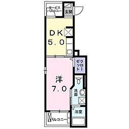 K2ハウス[202号室]の間取り