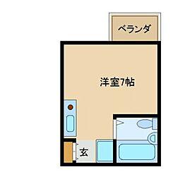 オフィス新三和[102号室]の間取り
