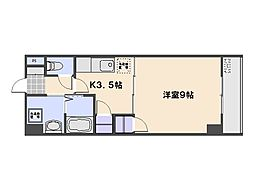 エステート36[9階]の間取り