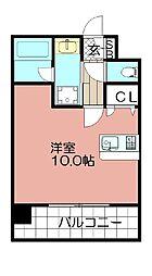 エンクレストNEO博多駅南(1004)[1004号室]の間取り