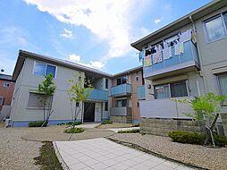 奈良県奈良市中山町の賃貸アパートの外観