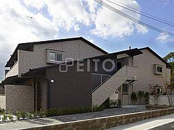 京都府京都市左京区岩倉中在地町の賃貸マンションの外観