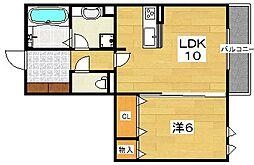 (仮称)D-room牧野下島町[2階]の間取り