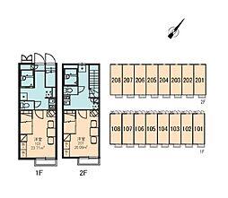 マロンハイツ[2階]の間取り