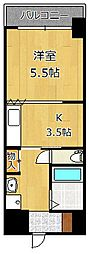 ヴィラコート戸畑元宮[3階]の間取り