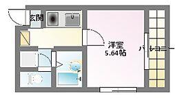 ハイツシグマII[5階]の間取り