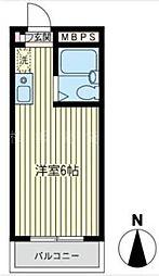 オクトメゾン桜木町[3階]の間取り