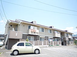 長野県松本市沢村3丁目の賃貸アパートの外観