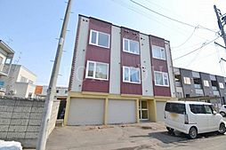 北海道札幌市東区北二十六条東10丁目の賃貸アパートの外観