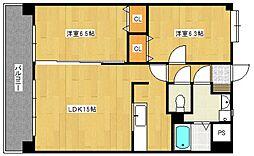 メゾ・フロンテ[3階]の間取り