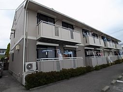 栃木県小山市西城南3丁目の賃貸アパートの外観