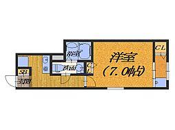 大阪府堺市西区鶴田町の賃貸アパートの間取り