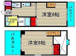 タレイア日本橋[503号室]の間取り