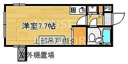 ライオンズマンション京都西洞院[204号室号室]の間取り